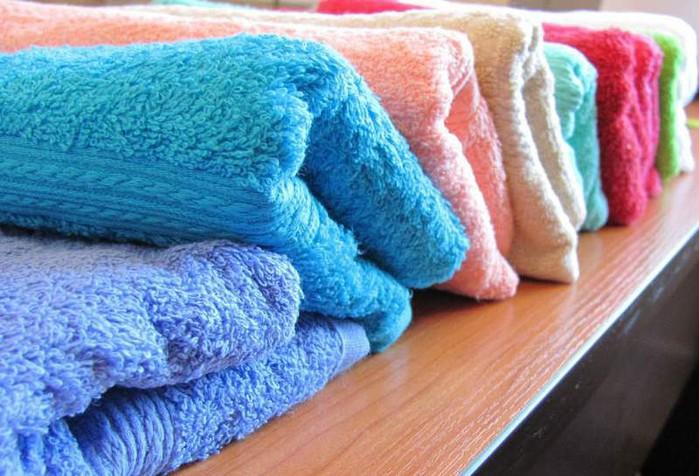Чтобы махровое полотенце стало мягким