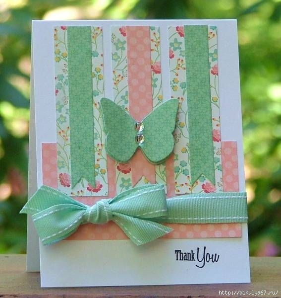 День рождения, фото своими руками открытку с бабочкой