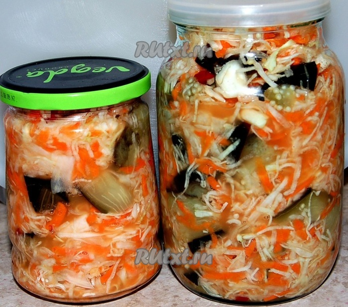 Салат на зиму без стерилизации банок