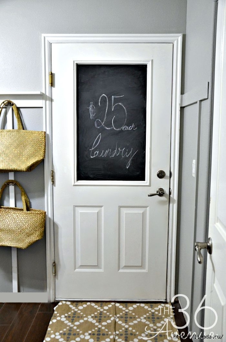 DIY-Home-Decor-Chalkboard-Door-by-the36thavenue.com- (463x700, 209Kb)