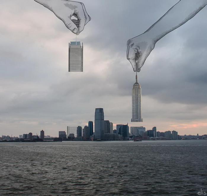 Нью-Йорк в иллюстрациях Элишка Подзимкова