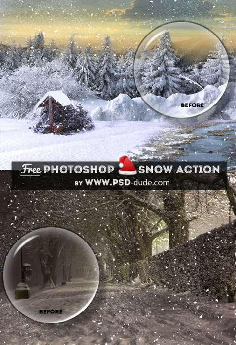 Create Snow Effect Photoshop Free Action (479x700, 414Kb)