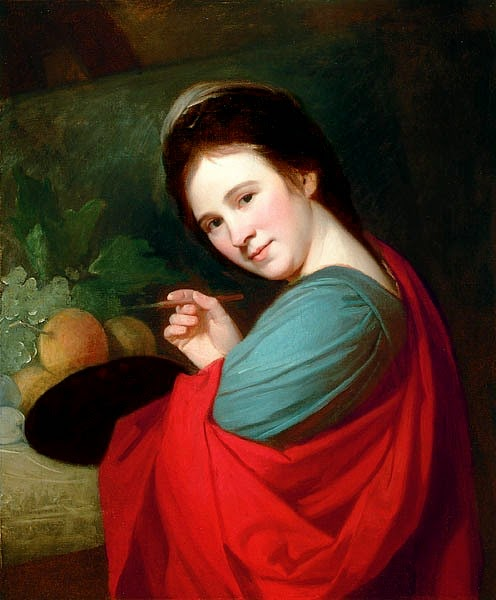 Mary Moser, 1770-71, George Romney (496x600, 46Kb)