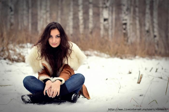 Как можно сфотографироваться зимой