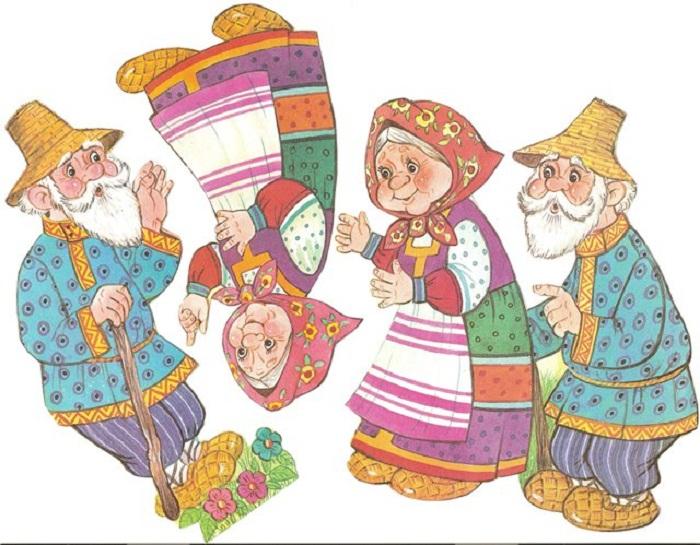Русские народные сказки картинки для театра