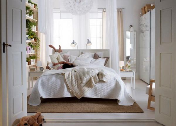 круглые кровати в икеа.