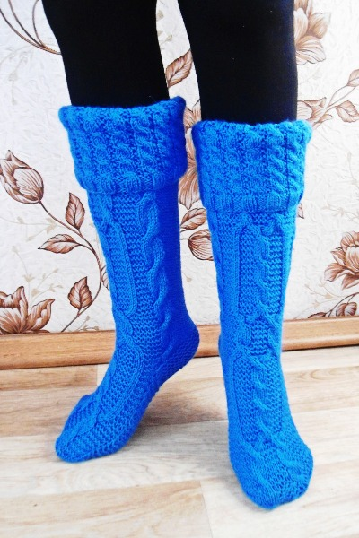 Marskix красивые вязанные носки