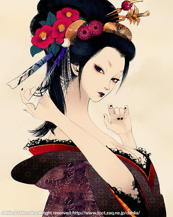 courtesan_by_tknk (559x700, 118Kb)