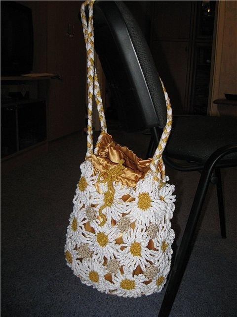 4bb7b6f9c164 сумки-ромашки - Самое интересное в блогах