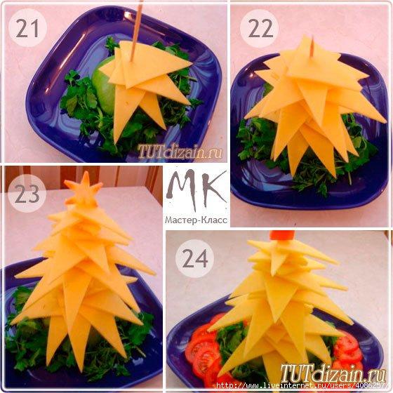 Оригинальное блюдо для новогоднего стола -... / Еда и напитки / Оформление блюд / Pinme.ru / Люция Заозерова