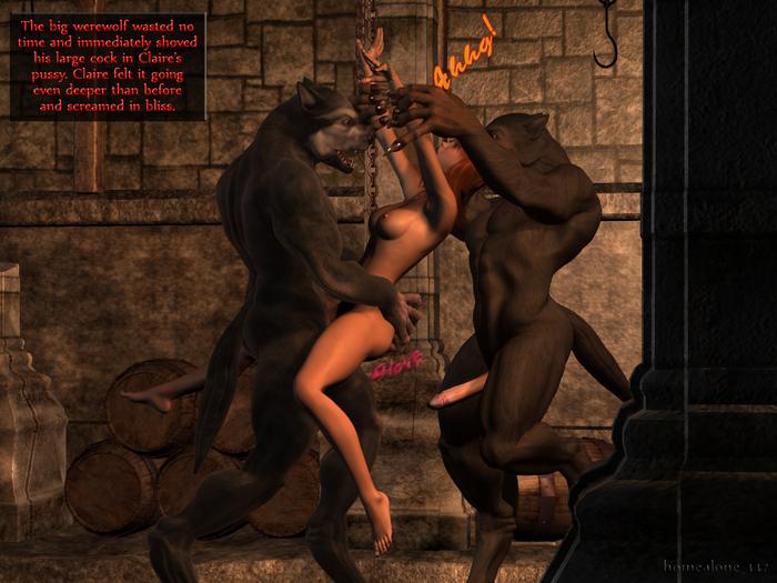 Секс женщины с оборотнем порно онлайн бесплатно