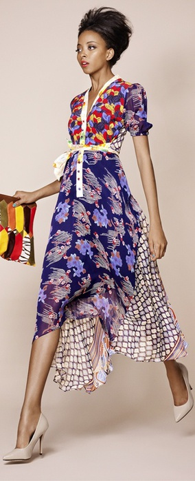 Duro Olowu Spring Summer 2013 Ready-To-Wear (284x700, 82Kb)