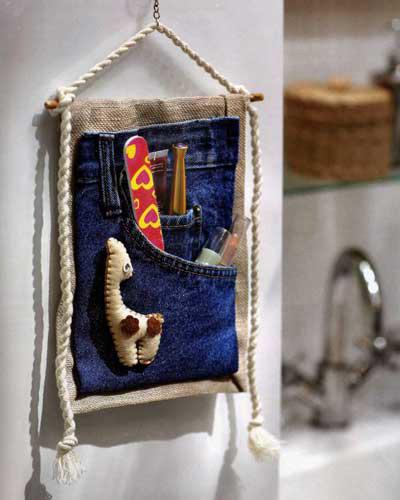 Вторая жизнь старых джинсов