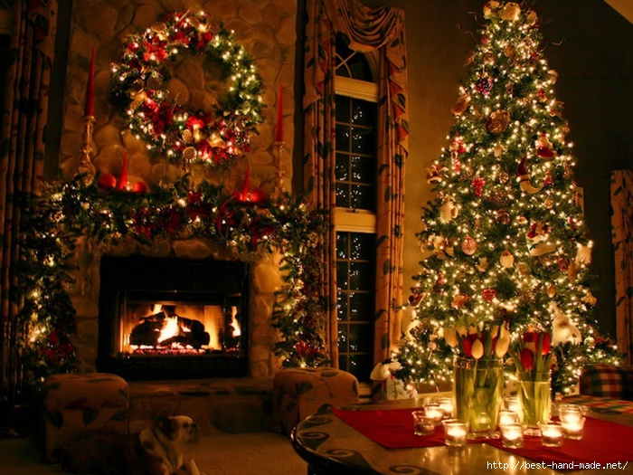 christmas_decoration_dog_fire_fireplace_green_lights_red-1024x768 (700x525, 306Kb)