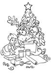 Дети готовят подарки