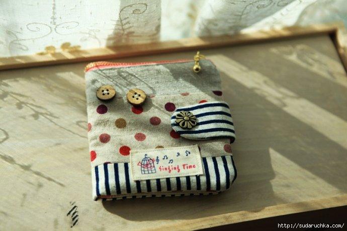 38b1a2e4f190 Как сшить кошелек из ткани. Мастер класс.. Обсуждение на LiveInternet -  Российский Сервис Онлайн-Дневников