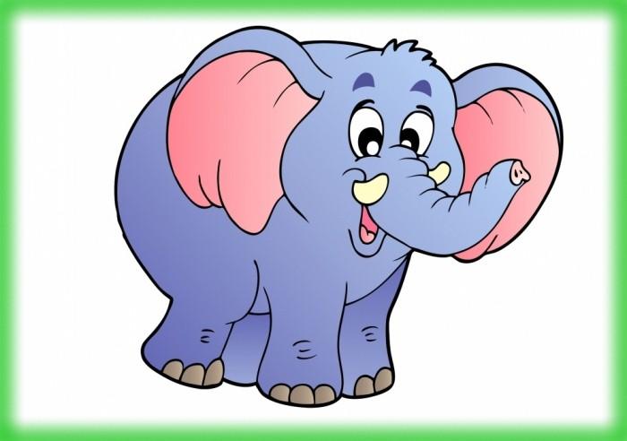 Открытки днем, картинки слоников для детей