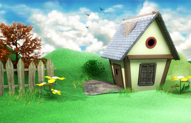 Для, картинки анимации домик