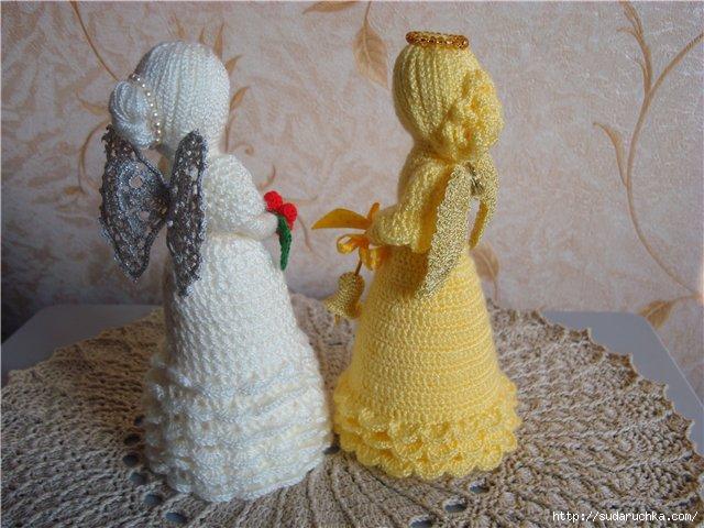 ангел вязаная кукла описание для вязания крючком обсуждение на