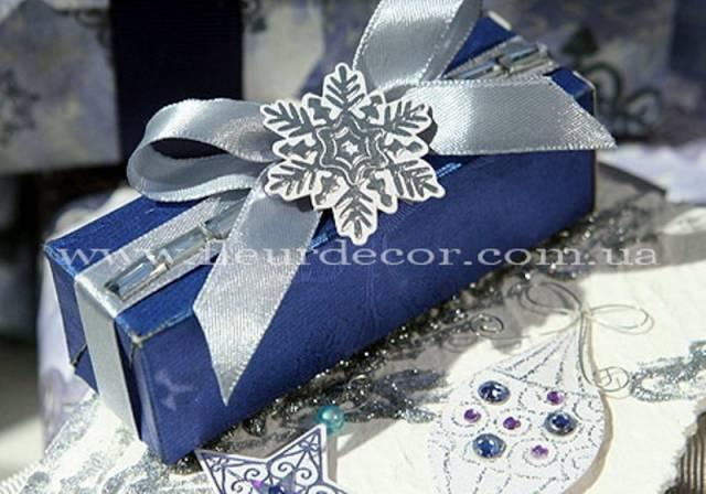 DELFI foto Фото Как упаковать новогодний подарок своими руками