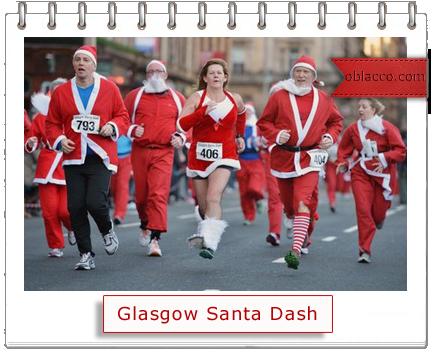 Glasgow Santa Dash 2012