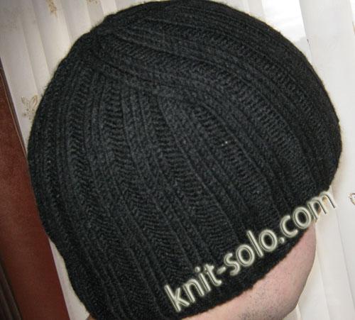 Charcoalysutom вязка зимней мужской шапки
