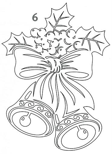 Как нарисовать колакольчик навогодний Сайт о рисовании