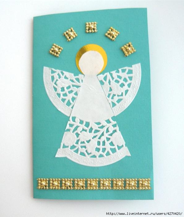 этой рождественские открытки своими руками с детьми маски