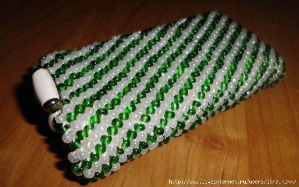 чехол для телефона вязание бисером небольшой мк обсуждение на
