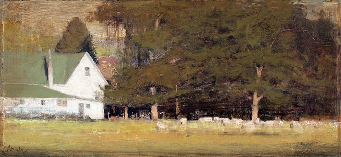 Old_House_with_Sheep (700x321, 95Kb)