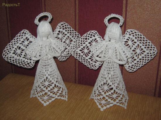 Ангелочки своими руками. Обсуждение на LiveInternet ...