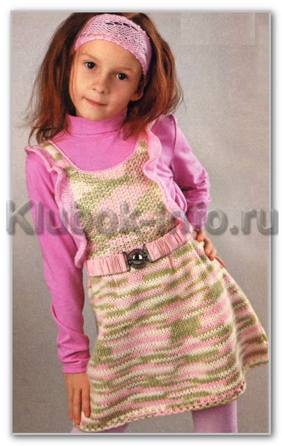 схемы вязания спицами для девочек 3 лет