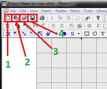 Как сделать схему по фото в pattern maker