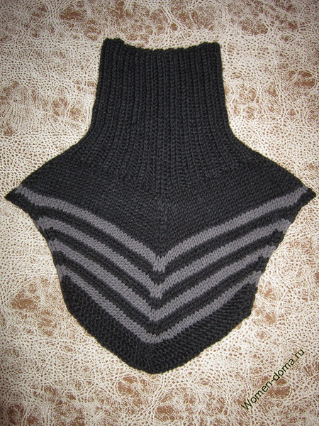 вязание полоски круговое вязание