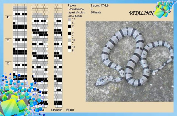 Схема для вязания бисерных жгутов Вязание жгутов Салон Эксклюзивного Бисера beading
