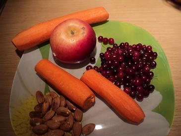 морковно яблочные маффины