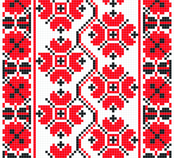Ethnic Ukraine Patterns 44 (595x539, 1168Kb)