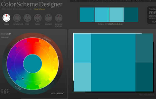 Color Scheme Designer (500x316, 74Kb)