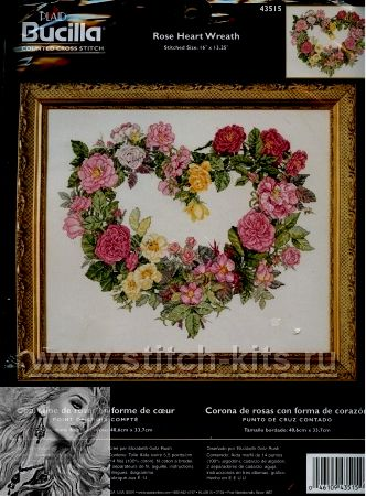 Rose Heart Wreath (1) (332x450, 51Kb)