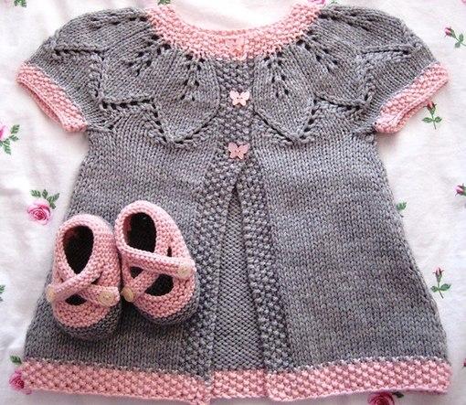 детская вязаная одежда схема