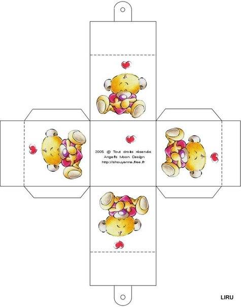 Коробочки для подарков своими руками шаблон - Поделки