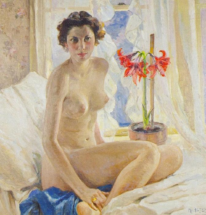 Mathias J. Alten - Female Nude (671x700, 72Kb)