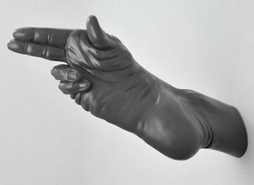 Богдан Рата. Оригинальные скульптуры из частей тела. Фотографии
