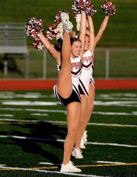 Banging young cheerleaders — pic 13