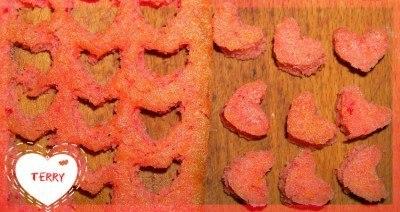 Как сделать кекс с сердцем внутри