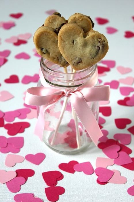 Как сделать печенье в форме сердечка