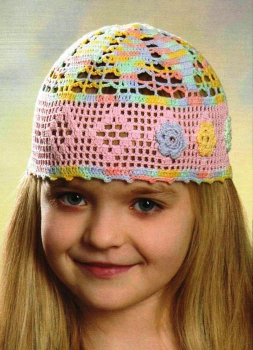 три летние шапочки для девочки крючком обсуждение на Liveinternet