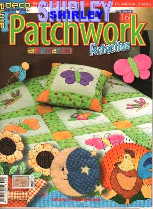 ARTE MANUAL N°16 - PATCHWORK EN RETACITOS (512x700, 301Kb)