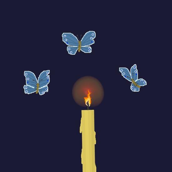 картинки мотылек летит на огонь и вода конце поста подборка