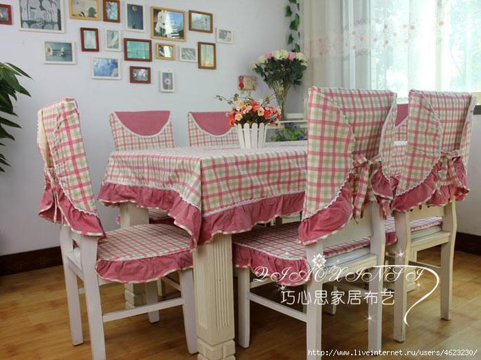 Чехлы на стулья своими руками: фото, выкройки, как. - Pinterest 50
